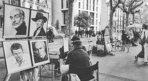 Rambla, Artisti di strada.