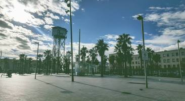 Barceloneta, Molo.