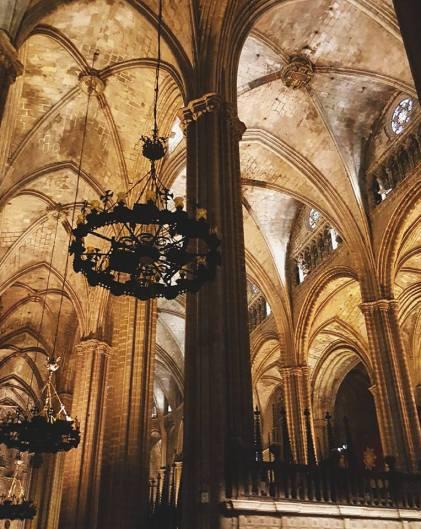 Catedral de Barcelona, Interno.
