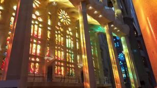 Sagrada Familia, Interno.